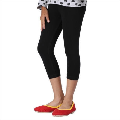 Plain Capri Legging