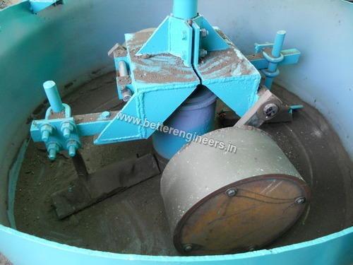 Pan Mixer Rolling