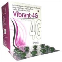 Omega-3 Ginseng Vitamins Minerals Soft Gelatin Capsules