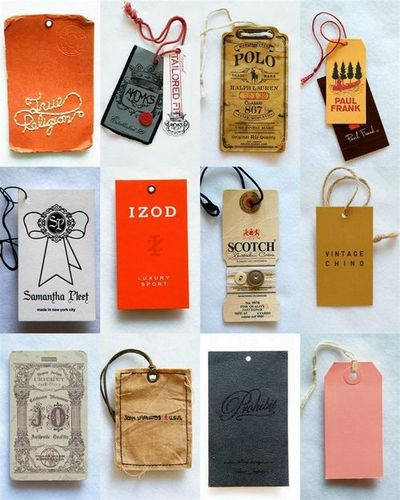 Clothing Labels & Tags
