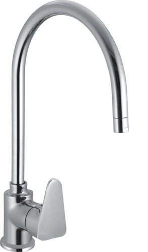Brass Single Lever Sink Mixer Antik