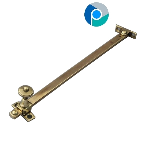 Antique Brass Window Stays