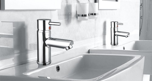 Single Lever Basin Mixer Flora