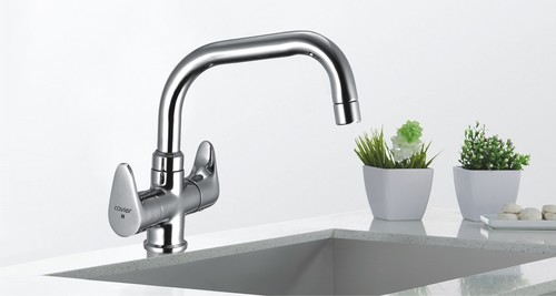 Brass Sink Mixer Table Mounted Exporter