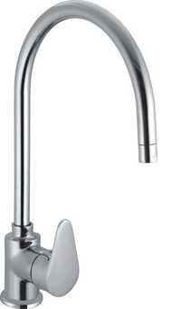 SL Sink Mixer With Swinging Spout Table Mounted