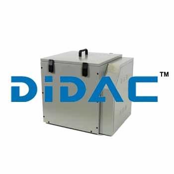 Adiabatic Concrete Calorimeter