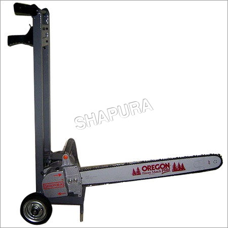 Trolley Chain Saw Machine
