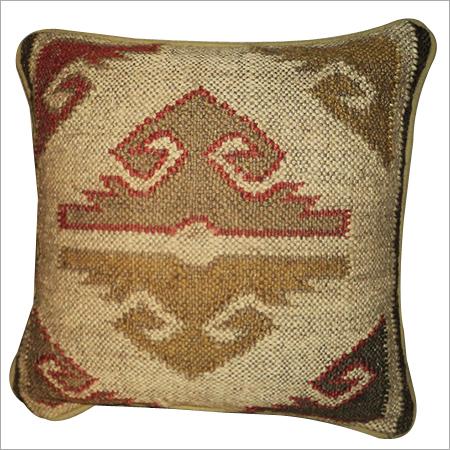 Decorative Jute Cushions Cover