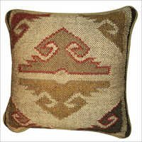 Decorative Jute Cushions Cover