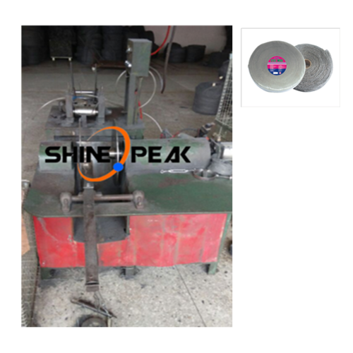 Steel Wool Cake Machine