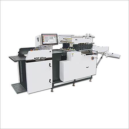 NSF Ultra Multi Functions Die Cut & Foil Stamp Machine