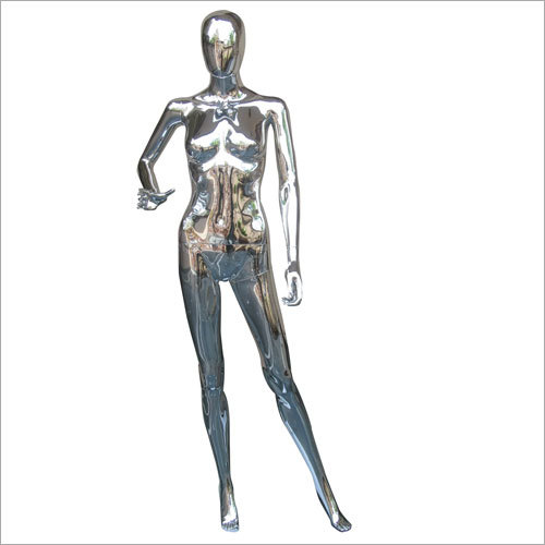 Male Chrome Mannequins