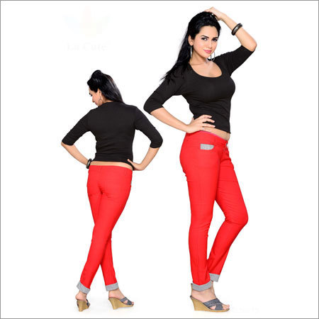 Designer Top With Jeggings