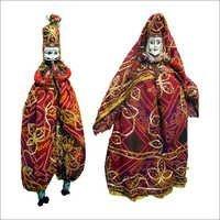 "Rajasthani Puppets 30"""