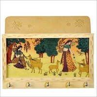 Wooden Handicraft - Letter Key Holder