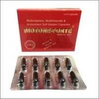 Multivitamins, Multimierals & Soft Gelatin Capsule