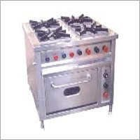 4 Burner Range With Oven