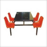 4 Seater Fixed Dining Table