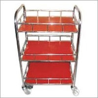 Tier Trolley With Fence