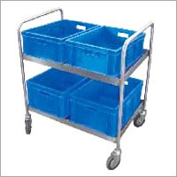 Soli Collection Trolley with Plastic Tub
