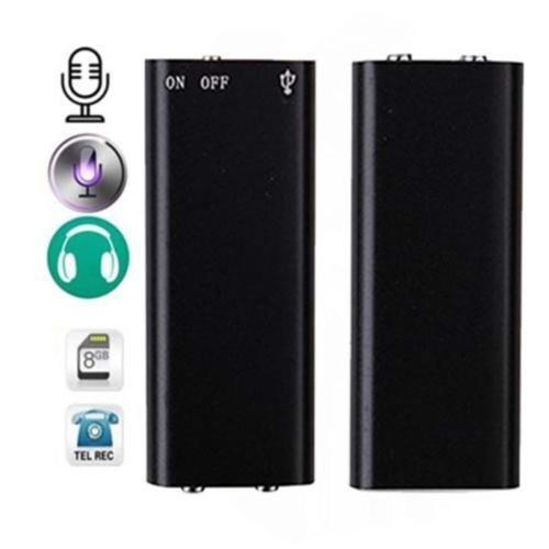 SPY VOICE RECORDER WITH PASSWORD PROTECTED/LOCK FACILITY