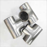 Titanium Tee Pipe Fittings