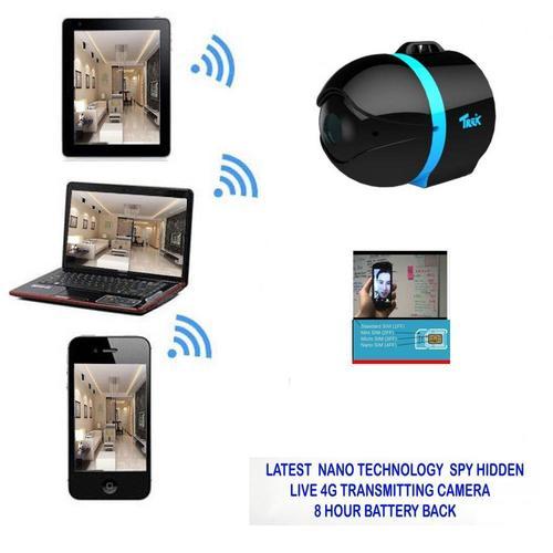 SPY LATEST NANO TECHNOLOGY LIVE 4G TRANSMITTING CAMERA 8 HOUR BATTERY