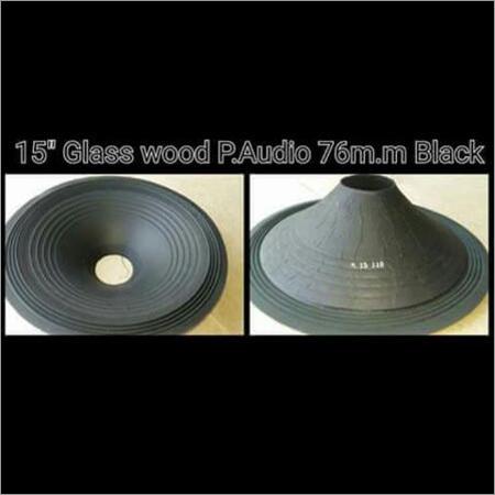 Glass Wood P Audio Black