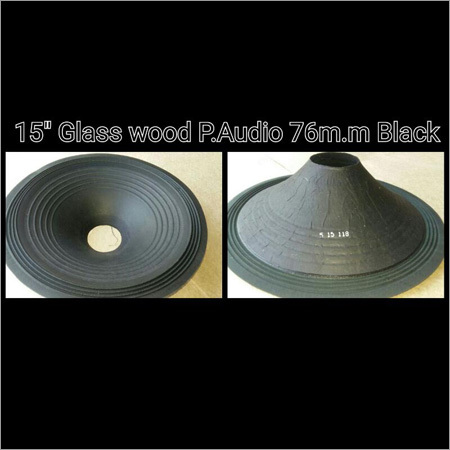 Glass Wood P Audio Black