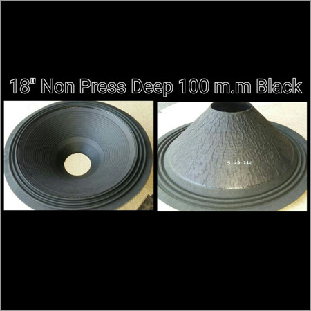 Non Press Deep 100 MM Black