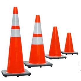 Pvc Traffic Safety Cone Certifications: Iso