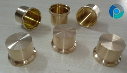 Brass Hardware Cap End