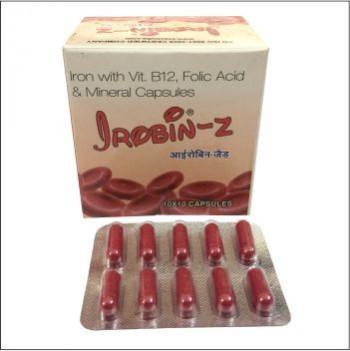 Iron with B12, Folic Acid & Minerals Capsules
