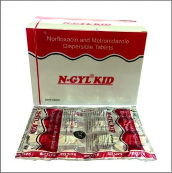 Norfloxacin & Metronidazole Dispersible Tablets