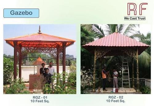 10 Feet Square Gazebo