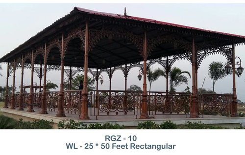 Feet Rectangular Gazebo