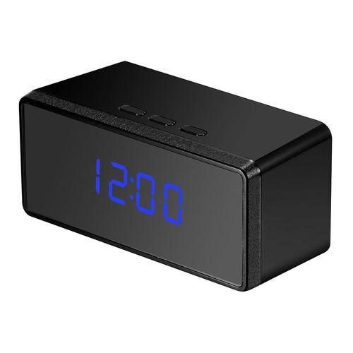 SPY HD 1080P SPY ALARM CLOCK IR NIGHT SECURITY HIDDEN CAMERA DVR MOTION DETECTION