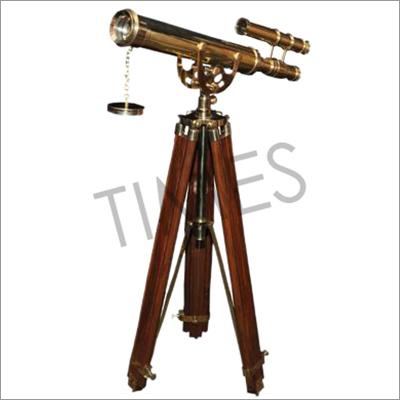Nautical Double Barrel Telescope With Tripod