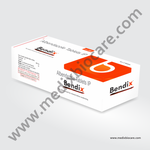 Albendazole 400mg Tablets