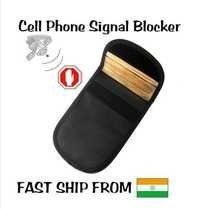 Cell Phone Rf Signal Blocker/Jammer Pouch. Stop Cell Phone Tracking And Bugging