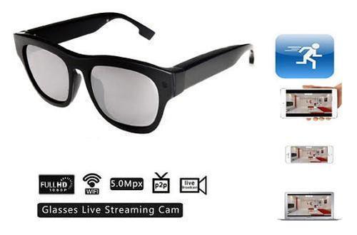 Spy Glasses Internet Live Streaming Cam/Live Spy Camera