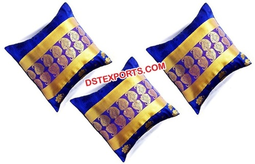 Royal Blue Wedding Cushion Covers