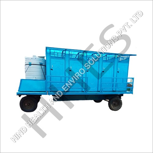 Ten Seater Mobile Toilet Van