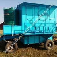 Six Seater Mobile Toilet Van
