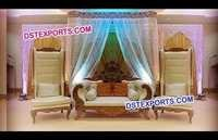 Wedding Stage Big Boss Furniture Set
