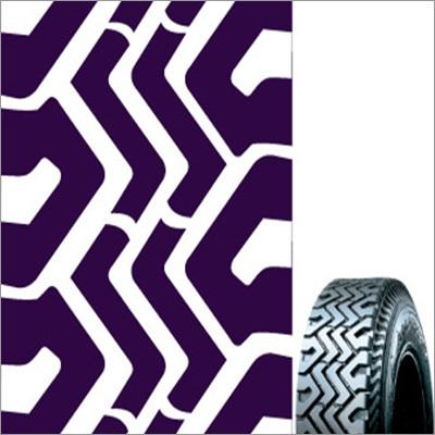 Semi Lug R Rubber Tyre