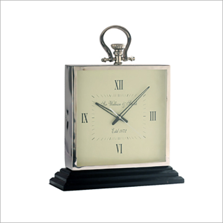 Square Designed Table Clock
