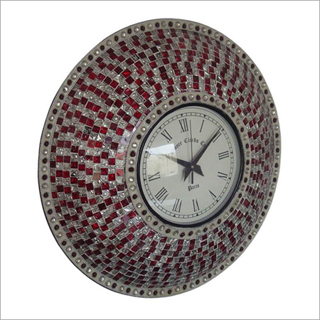 Glass Design Wall Clock