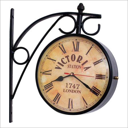 Victoria hanging Wall Clock