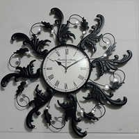 Iron Designed Wall Clock